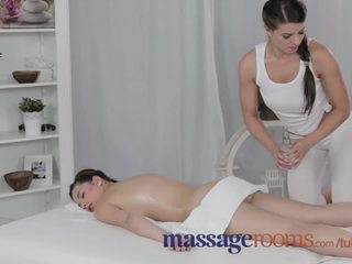 brunette, orgasm, sensual, shaved, female-friendly, fingering
