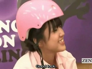 Subtitled japonez amator bowling joc cu sex in patru