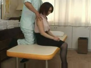 Warga jepun gadis sekolah gets fucked oleh beliau massager