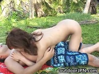 Ann Nanba Japanese Babe Receives Super
