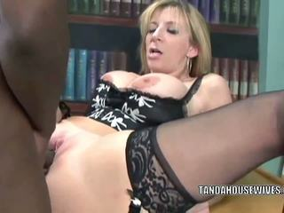 Sara Jay is in her office and getting fucked