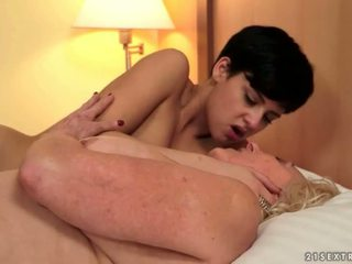 Grannies and Teens Sex with sweet angles