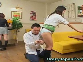 Baliw pornograpya may hapon waitresses!