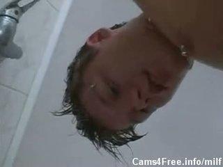 MATURE Milf Fucks Young Stud After Shower!