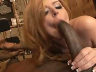 Sophie Dee interracial anal creampie from Rico Strong