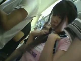 Miniskirt murid wedok groped in sepur