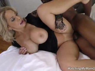 Watching My Mom Go Black - Porn Video 991