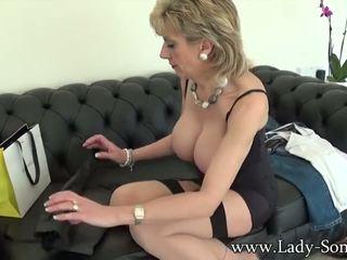 teasing, solo, heels