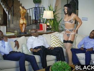 Blacked adriana chechik takes trio на bbcs