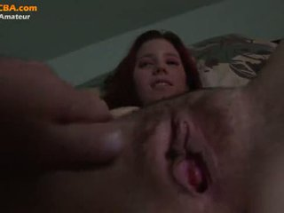 Young amateur red head blowjob (Home)