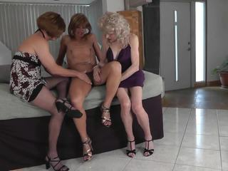 crossdresser, threesome, mėgėjas