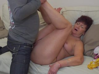 Granny Karina Fucked by Son in Law, Free Porn 2c