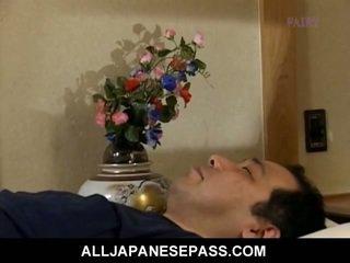 japonês, oriental, maduro