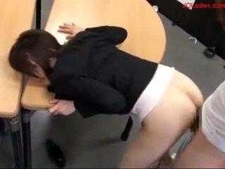 secretaresses, hardcore, aziatisch