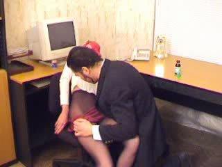büro, strumpfhose, sekretäre