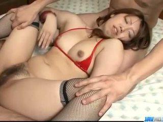 Obedient ai ootomo goes neer op two groot cocks