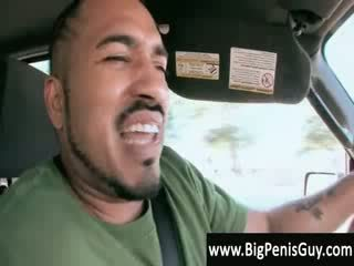 Black guy on his way to trailer park