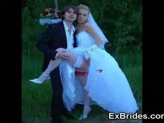 Real marota jovem brides!