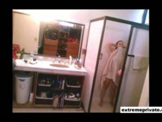ラウンド 尻 と 大きい ティッツ 私の ママ 上の スパイ camera