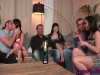 skupinový sex, swingers, evropský