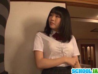 Satomi appreciates μεγάλο μακρύς pork dagger
