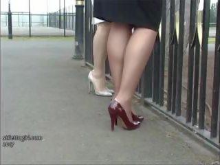 Erotic mare heel doamne amagi picioare picioare fetis în.