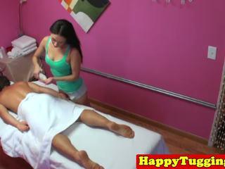 Á châu masseuse sixtynines và jerks khách hàng: miễn phí độ nét cao khiêu dâm 82