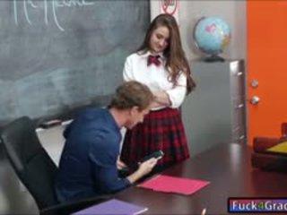 स्कूलगर्ल elektra rose बकवास द्वारा टीचर