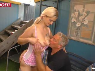 Letsdoeit - pusaudze skaistule seduced un fucked grūti līdz viņai solis tēvocis