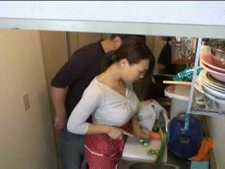 namų šeimininkės, virtuvė, xvideos