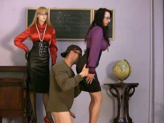 femdom, classroom