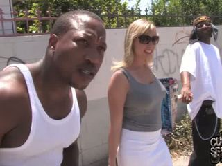 Adrianna Nicole gets Double banged by blacks