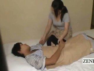 Subtitle jepang milf memainkan kontol dengan tangan hotel pijat gone salah