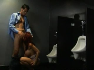 Kylee Strutt fucks in bathroom