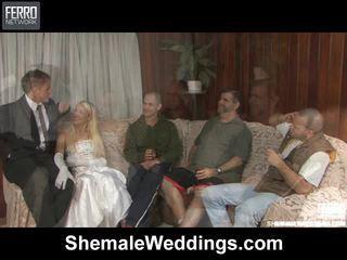 Mix Of Edu, Senna, Alessandra By Shemale Weddings