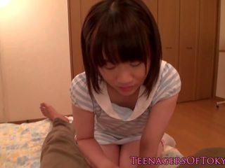 Fingered Nippon Teen Cocksucking Stepdad, Porn 34