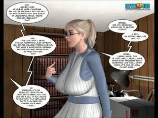 karikatūras, 3d comics