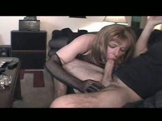 orális szex, crossdresser, fehérnemű