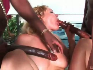 This Pretty Secretary Called Us For A Black Cock Delivery And You Bet Your Ass She Got It In Spades Two Piping Hot Ebony Members Probed That Mature Ass As She Stretched Wide Lovin Every Inch Watch As The Brothas Defile Another Pretty Ass In This One