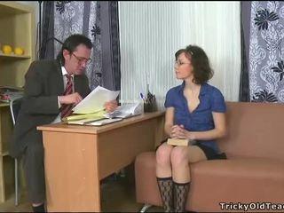 Sensuale tutoring con insegnante