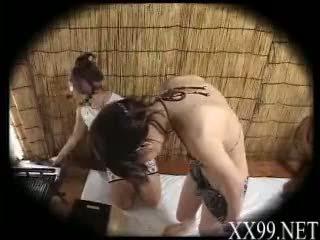 babes, masaža, asian