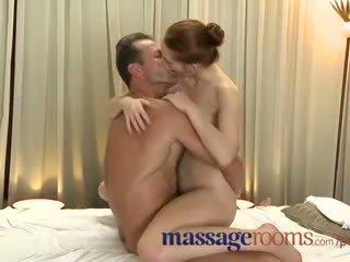 Massage rooms incredible jong vrouw serviced vervolgens creampie