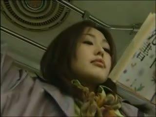 japonais, lesbienne, bus