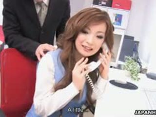 Aiko Nagai Feasts On Three Thick Thick Cocks