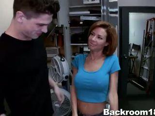 Veronica Avluv Fucked in Backroom