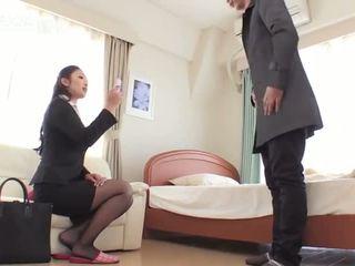 Reiko kobayakawa amagi decât rimjob tâmpit la dracu