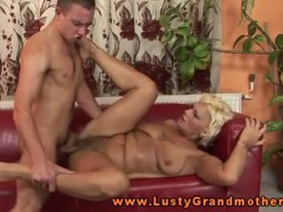 Granny mature loves to get pounded