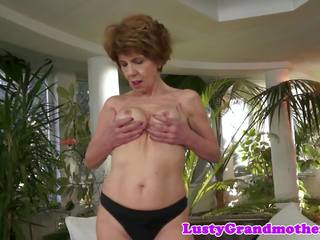 Cocksucking Granny Banged from Behind, HD Porn d0