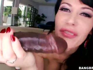brunette, fucking, hardcore sex