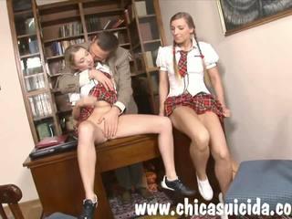 學院 美眉 blowing 她的 老師 為 更好 級.